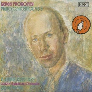 プロコフィエフ:ピアノ協奏曲4番Op.53,5番Op.55