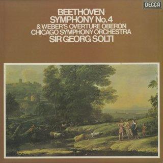 ベートーヴェン:交響曲4番Op.60,ウェーバー:オベロン序曲