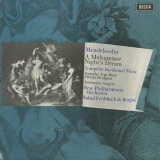 メンデルスゾーン:真夏の夜の夢Op.21,Op.61