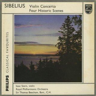シベリウス:ヴァイオリン協奏曲Op.47,歴史的情景(4曲)