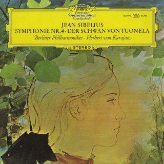 シベリウス:交響曲4番Op.63,トゥオネラの白鳥Op.22−3