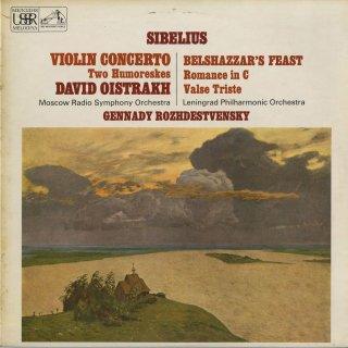 シベリウス:ヴァイオリン協奏曲Op.47,ベルシャザール王の饗宴Op.51,ロマンスOp.42,悲しいワルツOp.44