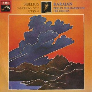 シベリウス:交響曲5番Op.82,交響詩「エン・サガ」Op.9