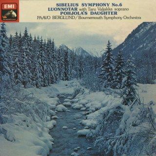 シベリウス:交響曲6番,太陽の精Op.70,ポホヨラの娘Op.49