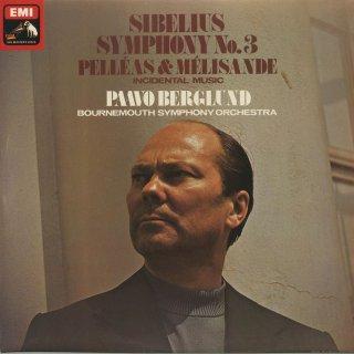 シベリウス:交響曲3番Op.52,ペレアスとメリザンドOp.46