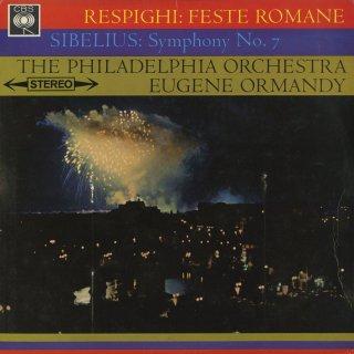 レスピーギ:ローマの祭り,シベリウス:交響曲7番