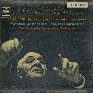 ブルックナー:交響曲7番(原典版),ワーグナー:ローエングリン〜前奏曲,ジークフリートの牧歌