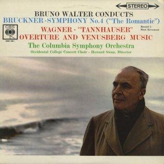 ブルックナー:交響曲4番「ロマンティック」,ワーグナー:タンホイザー〜序曲,ヴェーヌスベルクの音楽