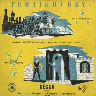 チャイコフスキー:1812序曲集,ハムレット〜幻想序曲集