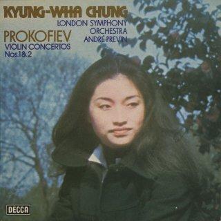 プロコフィエフ:ヴァイオリン協奏曲1番Op.19,2番Op.63