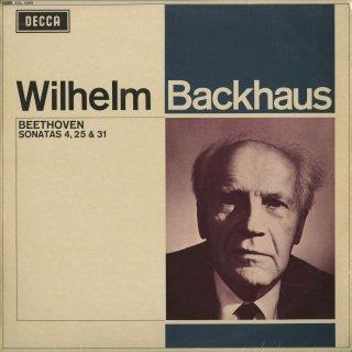 ベートーヴェン:ピアノ・ソナタ4番Op.7,25番Op.79,31番Op.110