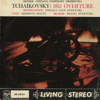 チャイコフスキー:1812年序曲,メンデルスゾーン:フィンガルの洞窟,リスト:メフィスト・ワルツ,ブラームス:悲劇的序曲
