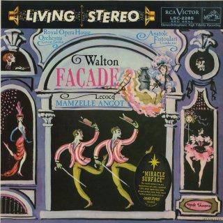 ウォルトン:ファサード組曲,ルコック:アンゴー夫人の娘組曲