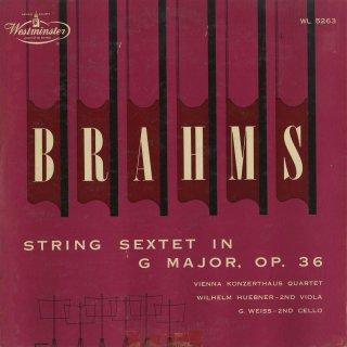 ブラームス:弦楽六重奏曲2番Op.36