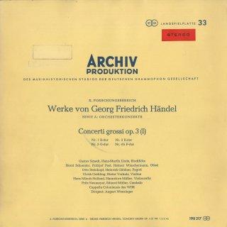 ヘンデル:合奏協奏曲Op.3(全6曲),アレクサンダーの饗宴