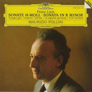 リスト:ピアノ・ソナタ,灰色の雲,不運,悲しみのゴンドラ,リヒャルト・ワーグナー