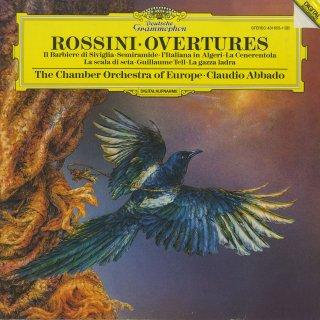 ロッシーニ・序曲集/セビーリャの理髪師,セミラーミデ,アルジェのイタリア女,ウィリアムテル,シンデレラ,絹のはしご,どろうぼうかさぎ