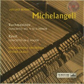 ピアノ協奏曲集/ラフマニノフ:4番Op.40,ラヴェル