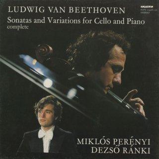 ベートーヴェン:チェロ・ソナタ1〜5番,Op.17,変奏曲(3曲)