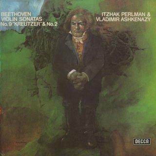 ベートーヴェン:ヴァイオリン・ソナタ2,9番「クロイツェル」