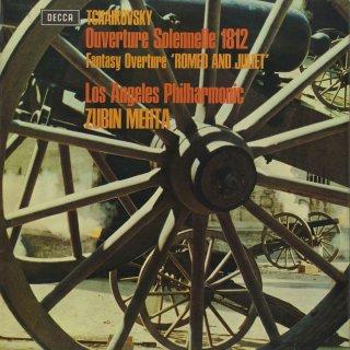 チャイコフスキー:序曲「1812年」Op.49,幻想的序曲「ロメオとジュリエット」