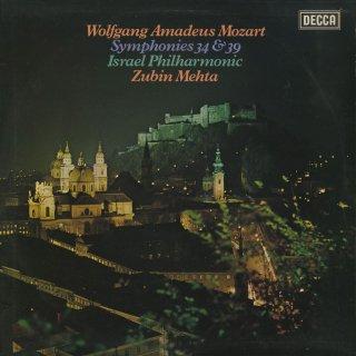 モーツァルト:交響曲34番K.338,39番K.543
