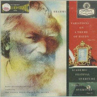 ブラームス:ハイドン変奏曲,大学祝典序曲,悲劇的序曲