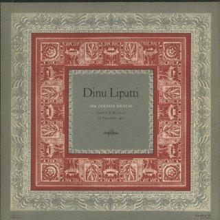 ブザンソン・ラスト・リサイタル/バッハ:パルティータ1番BWV.825,モーツァルト:ピアノ・ソナタ8番K.310,シューベルト:即興曲Op.90−2・3,ショパン:ワルツ(全13曲)