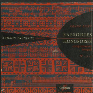 リスト:ハンガリー狂詩曲1〜15番