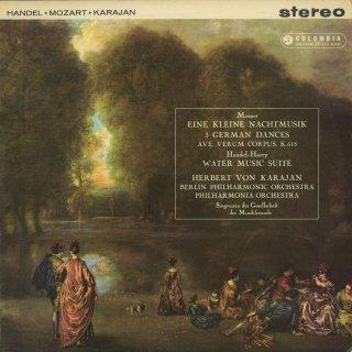 モーツァルト:アイネ・クライネ,アヴェ・ヴェルムK.618,ドイツ舞曲(3曲),ヘンデル:水上の音楽