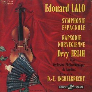ラロ:スペイン協奏曲,ノルウェー狂詩曲