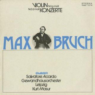ブルッフ:ヴァイオリン協奏曲1番Op.26,2番Op.44