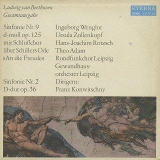 ベートーヴェン:交響曲9番Op.125「合唱」,2番Op.36