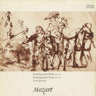 モーツァルト:弦楽四重奏曲20番K.499,21番K.575