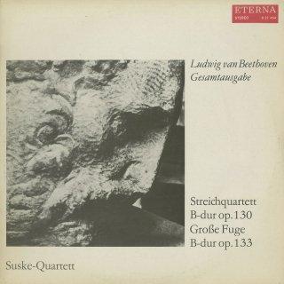 ベートーヴェン:弦楽四重奏曲13番Op.130,大フーガOp.133