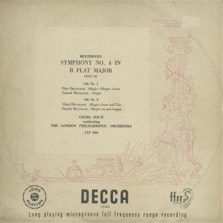 ベートーヴェン:交響曲4番Op.60
