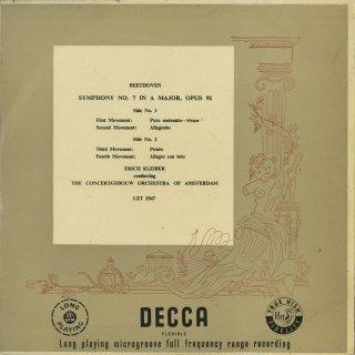 ベートーヴェン:交響曲7番Op.92