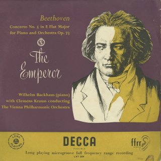 ベートーヴェン:ピアノ協奏曲5番Op.73「皇帝」