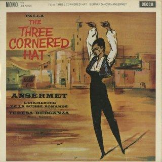 ファリャ:三角帽子,はかない人生〜間奏曲,舞曲