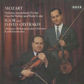 モーツァルト:協奏交響曲K.364,ヴァイオリンとヴィオラのデュオK.423