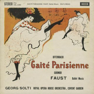 オッフェンバック:パリの喜び,グノー:ファウスト〜バレエ音楽