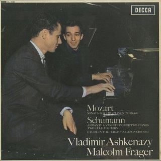 モーツァルト:2台のピアノのためのソナタK.448,シューマン:アンダンテと変奏曲,ペダルピアノのための練習曲Op.56−4(ドビュッシー編)