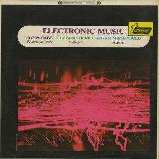 '「電子音楽」ベリオ:Visage,ケージ:Fonata Mix,ミマールオール:Agony
