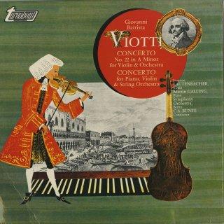 ヴィオッティ:ヴァイオリン協奏曲22番,ピアノ・ヴァイオリンの協奏曲