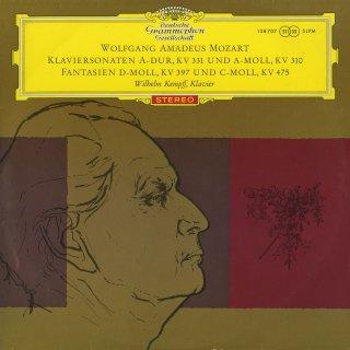 モーツァルト:ピアノ・ソナタK.331,310,幻想曲K.397,475
