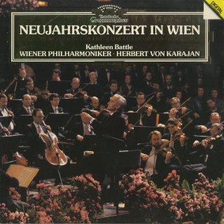 「'87年ニューイヤー・コンサート」こうもり序曲,天体の音楽,アンネン・ポルカ,うわごと,観光列車,ピチカート・ポルカ,春の声,美しく青きドナウ 他全12曲