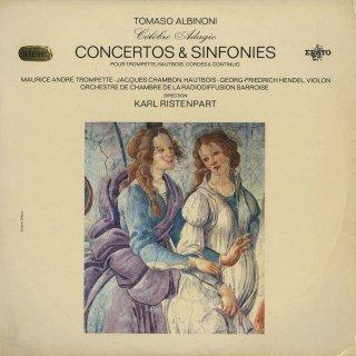 アルビノーニ:アダージョ,オーボエ協奏曲,トランペット協奏曲,シンフォニア,ソナタ