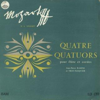 モーツァルト:フルート四重奏曲(全4曲)/K.285,285a,285b,298