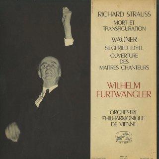 リヒャルト・シュトラウス:死と変容,ワーグナー:ジークフリートの牧歌,マイスタージンガー〜序曲
