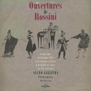 ロッシーニ:序曲集/セミラーミデ,ウィリアム・テル,アルジェのイタリア女,絹のはしご,泥棒かささぎ